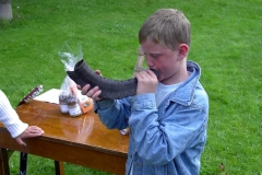 Även de små spelar bra - på bockhorn!