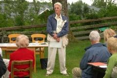 Sten Markendahl talar om Dalsland