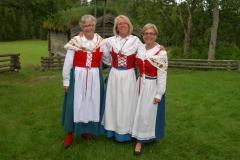 Tre dalsländskor: Anna-Lena Kadin, Elisabeth Jonsson, Ebba von Krogh.