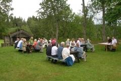 Några av deltagarna under årsmötet